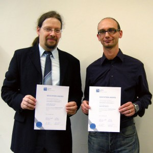 The winners for 2008/2009: Gerhard Navratil and Alexander Reiterer