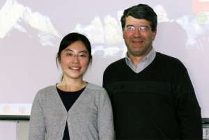 Wangshu Wang and Prof. Georg Gartner