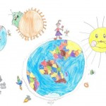 Laura (7): Me and My Planet Earth, 1. Platz der Altersgruppe 6–8 Jahre