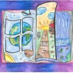 Kerstin (12) und Anna (12): Die Welt verändert sich von Tag zu Tag, 2. Platz der Altersgruppe 9–12 Jahre