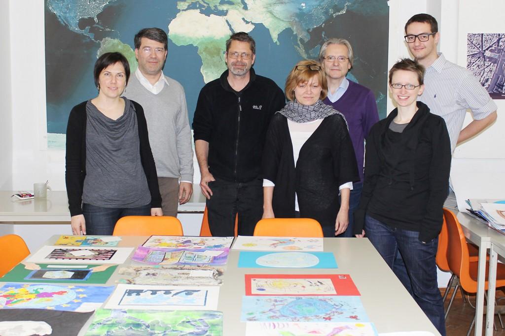Mitglieder der österreichischen Jury: Eszter Simonné-Dombóvári, Georg Gartner, Thomas Jekel, Erna Daublebsky-Sterneck, Wolfgang Kainz, Manuela Schmidt, Gilbert Kotzbek