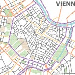 Typographic Map of Vienna by Shuoyan Huang, Project Map Creation