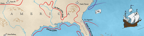 Early Exploration of North America, Jílková Petra