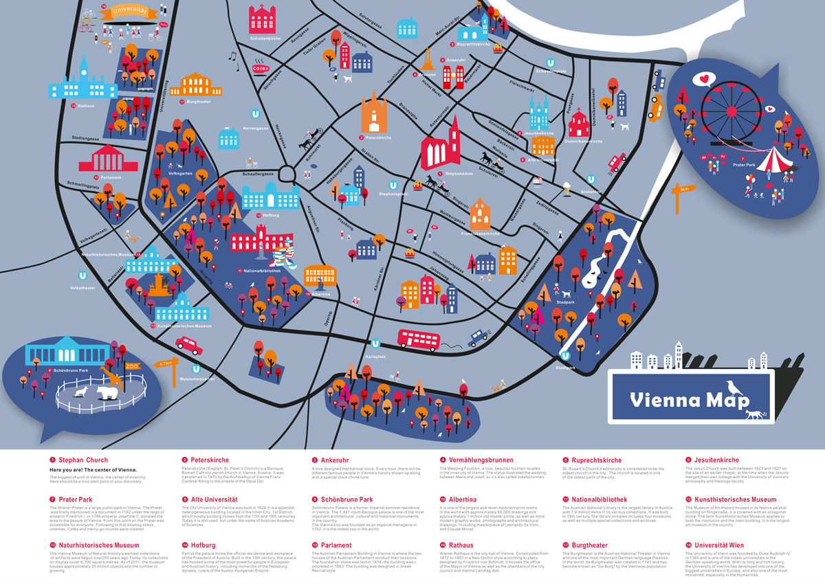 Great student maps from Project Map Creation, summer semester 2016 on