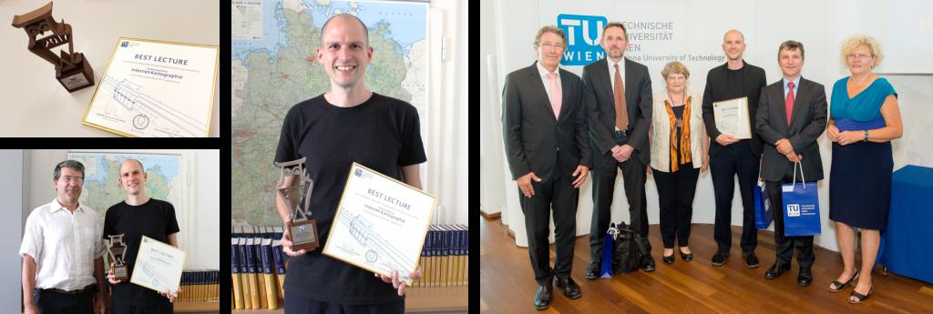 Florian Ledermann - Best Lecture Award Winner 2017