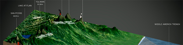 Sierra Madre Volcanic Chain Guatemala by Karen Byrne