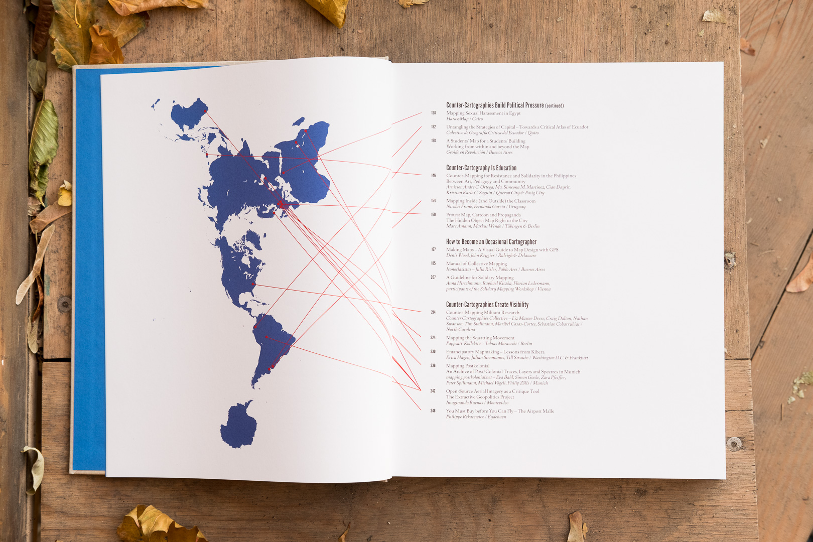 Inhaltsverzeichnis von This Is Not an Atlas