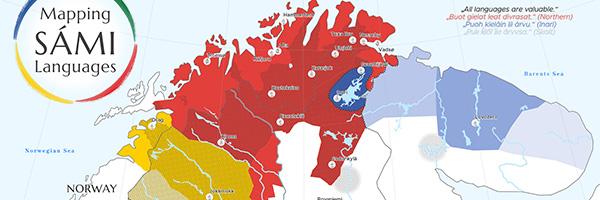 Mapping SÁMI Languages